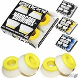 "BONES ""Hardcore"" Skateboard Truck Bushings 4 pack Soft Medium or Hard Cushions"